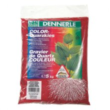 Dennerle Color Quartz Gravel красный 5 кг