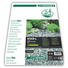 Dennerle Nature Gravel Plantahunter River L 8-12 мм 5 кг